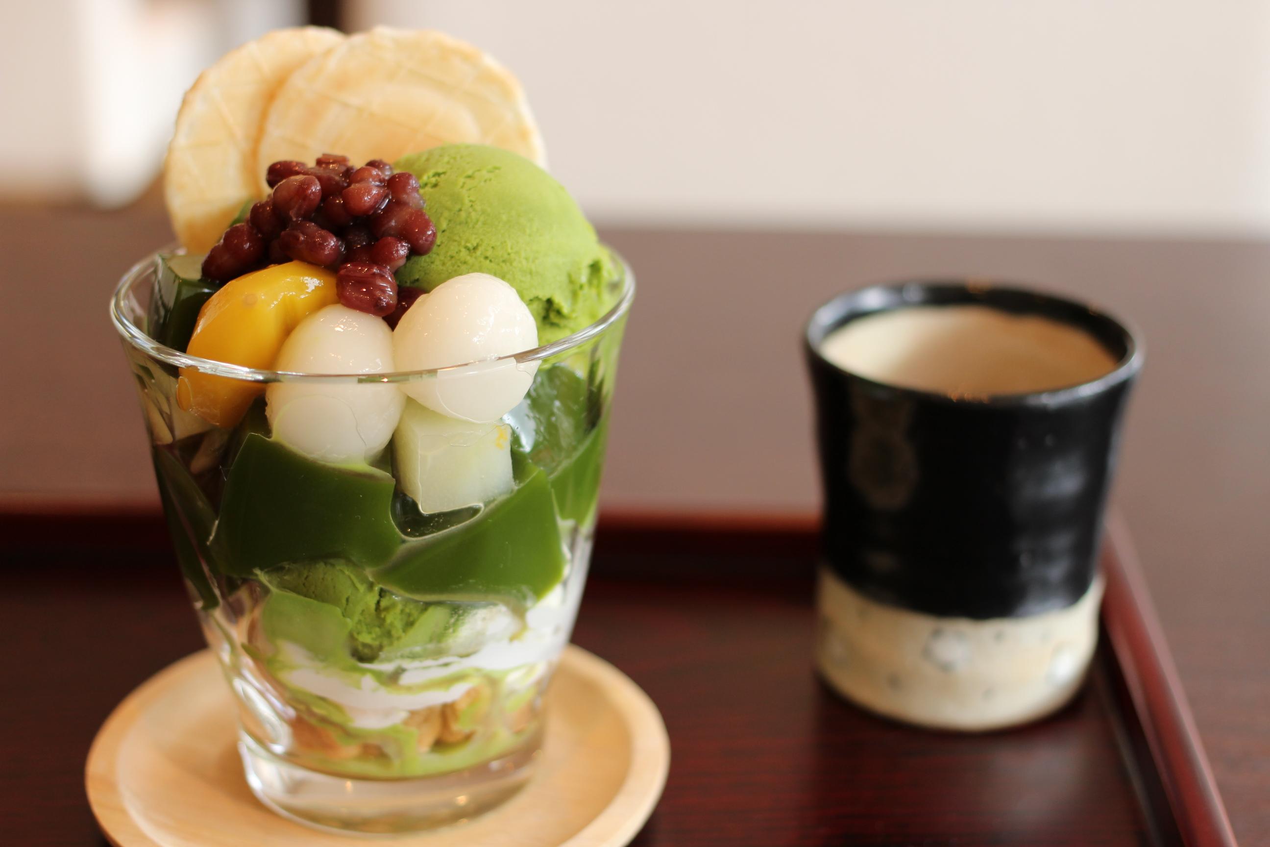 京都 抹茶パフェ